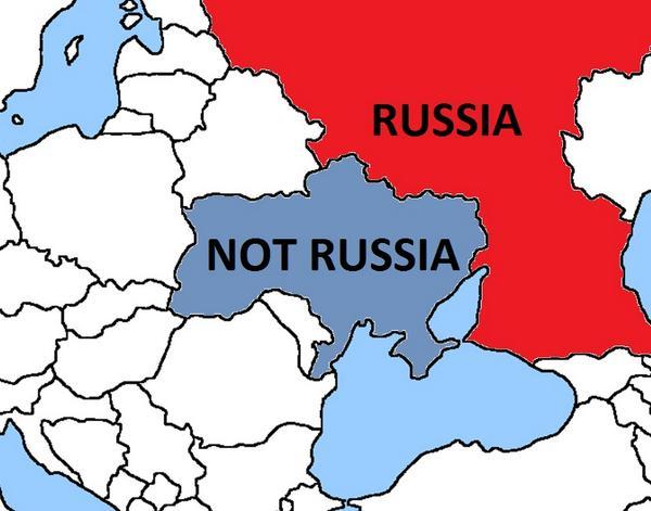 """Kanada auf Twitter: Karte """"Russland /Nicht Russland"""""""