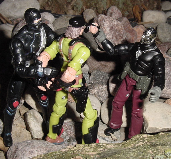 2003 Destro, Iron Grenadier, Lady Jaye