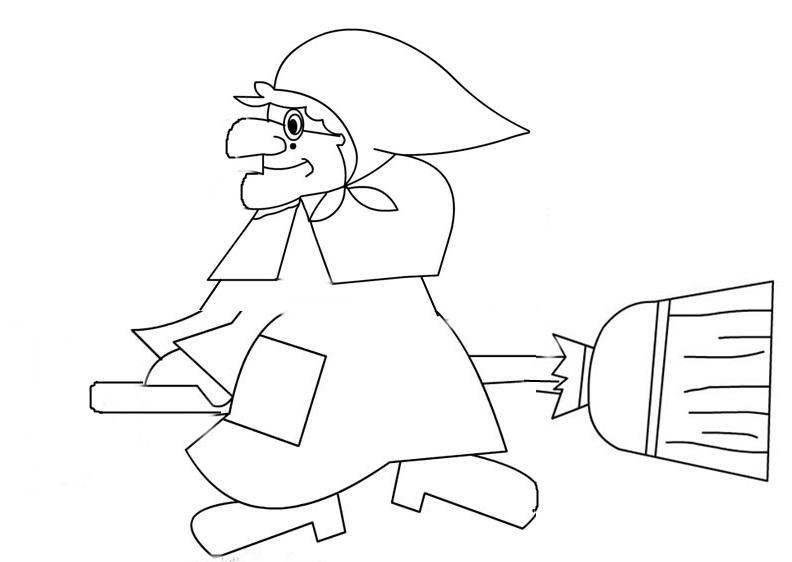 Studiamando liberamente un ritratto di pongo ed altro per for Befana disegno