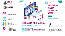Educația mediatică: Ciclu de instruiri