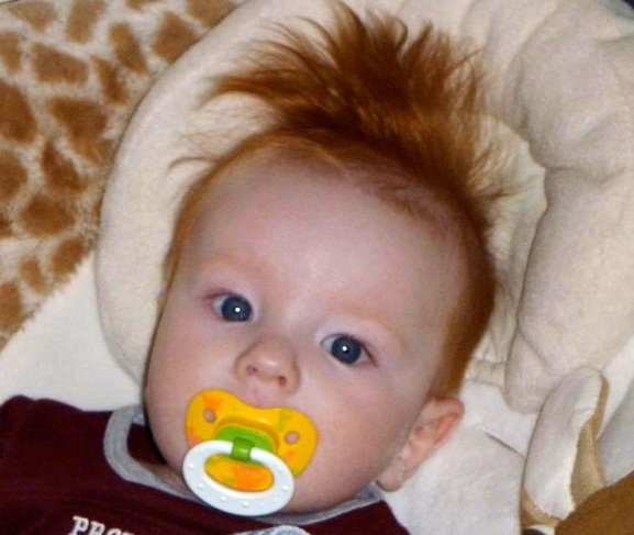 30 Cute Babies Having A Bad Hair Day