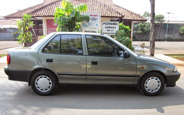 modifikasi mobil sedan suzuki esteem