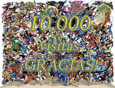 Felicitación por 10 mil visitas