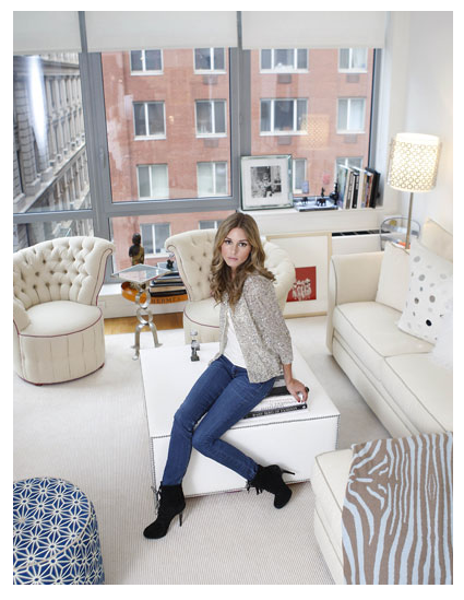 carly on queue: Apartment LOVE: Olivia Palermo