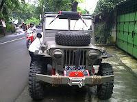 Pengiriman Pengecekan Mobil Jeep Wilis B 2870 OZ ke Surabaya