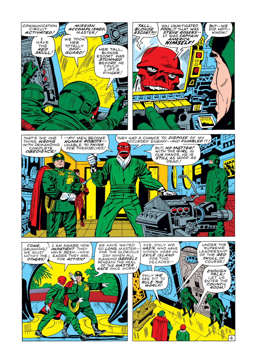 Captain America (1968) Issue #103 #17 - English 5