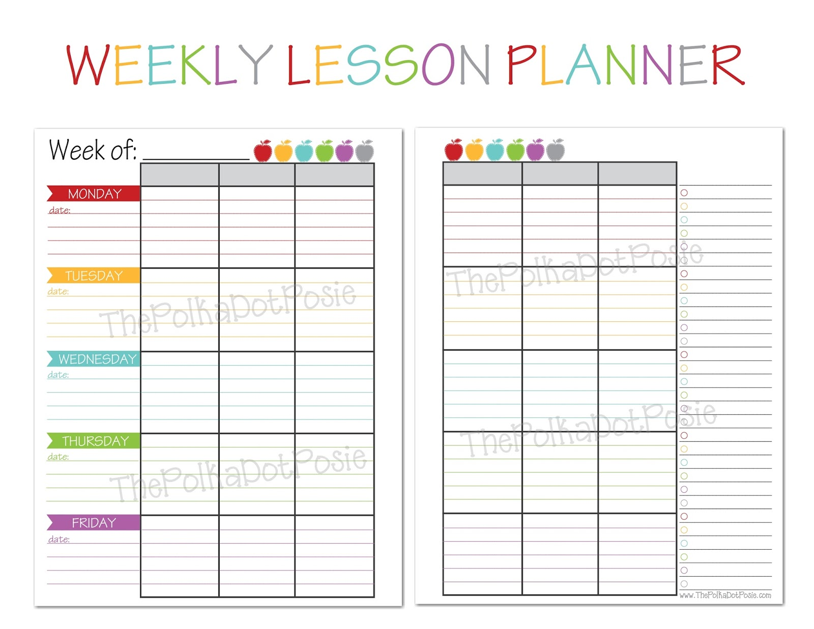 teacher calendar printable