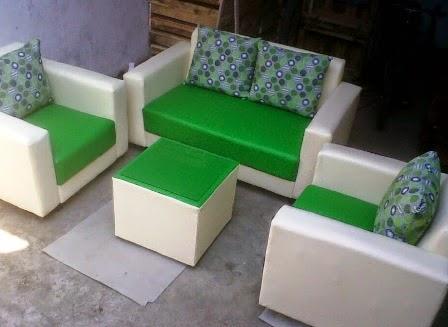 Sofa Minimalis Kain Bebas