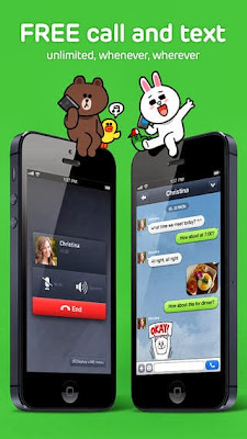 Line app for iPhone, iPad, iPod Touch