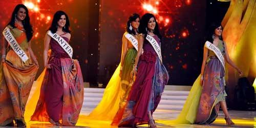 5 Gelar Miss Selain Miss Indonesia 2011 inilah Finalis yang Mendapatkannya