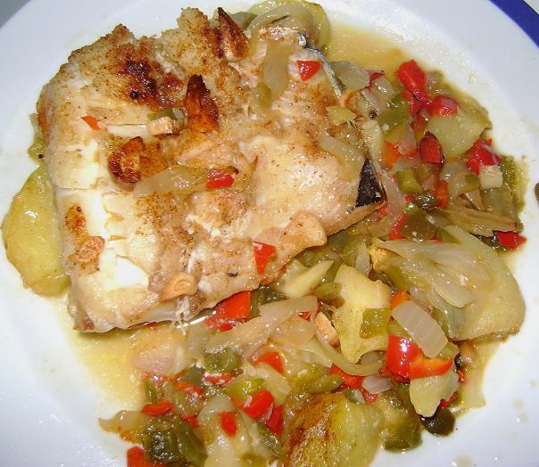 Cosasdefedri bacalao al horno con verduras bb for Como cocinar bacalao al horno