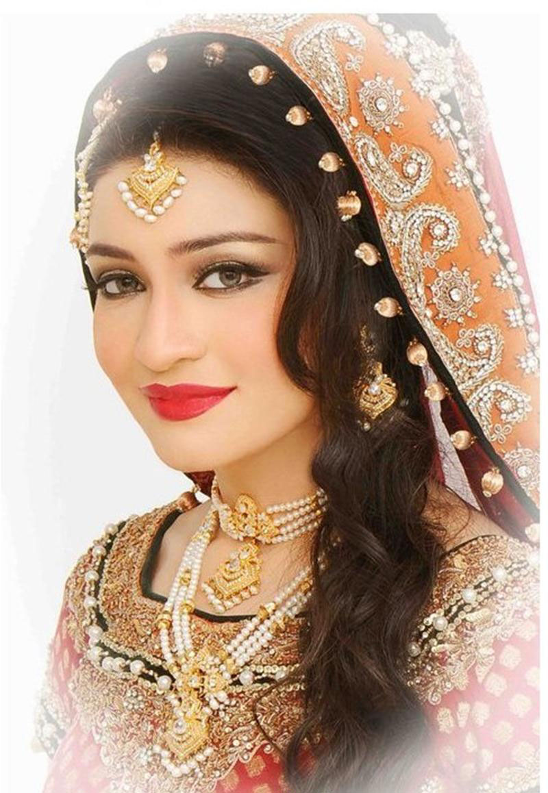Latest Bridal Makeup Trends And Jewelry Fashion Wedding ...