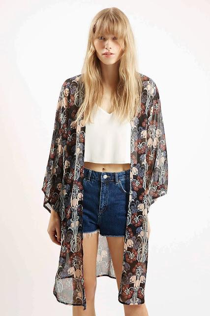 topshop kimono,