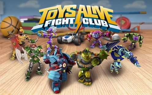 Toys Alive: Fight Club Apk v1.01.19 Mod [Unlimited Gold / Gems]