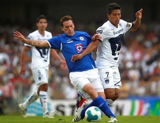 Previa Cruz Azul vs UNAM jornada 16 apertura 2014 futbol mexicano