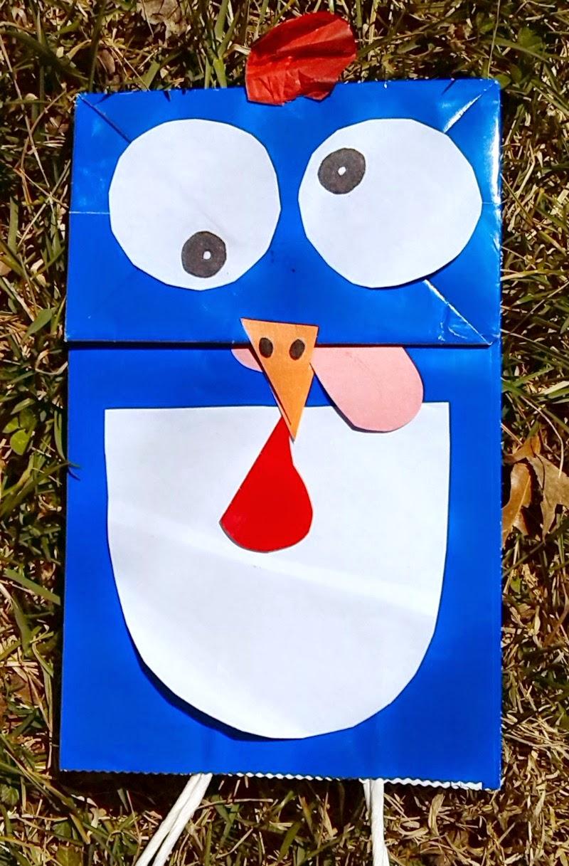 Make a Chicken Puppet
