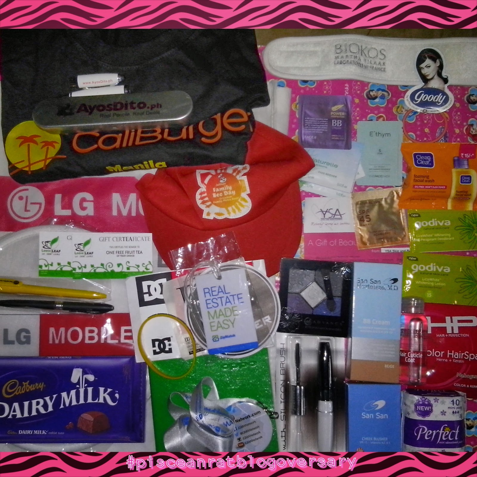 pisceanrat, blogversary, giveaway, philippines