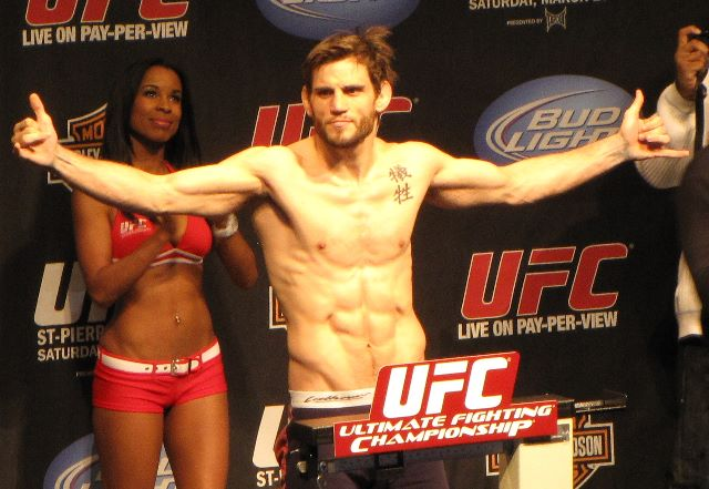 ufc mma welterweight jon fitch weigh in picture image