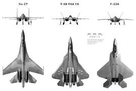 T-50 vs F-22A