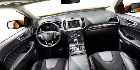 2015 Edge Raises Bar for Ford Utility Vehicles