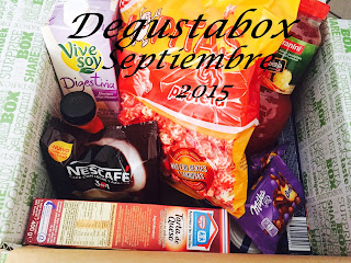 degustabox septiembre 2015