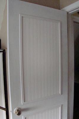 DIY beadboard door