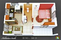 Architecture Kerala 3d Plan View