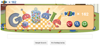 Game on Google Doodle