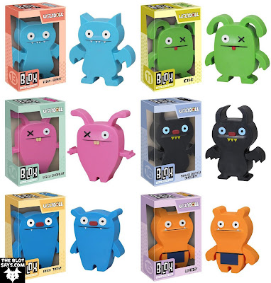 Uglydoll Blox Vinyl Figures by Funko - Ice-Bat, Ox, Ugly Charlie, Ninja Batty Shogun, Big Toe & Wage