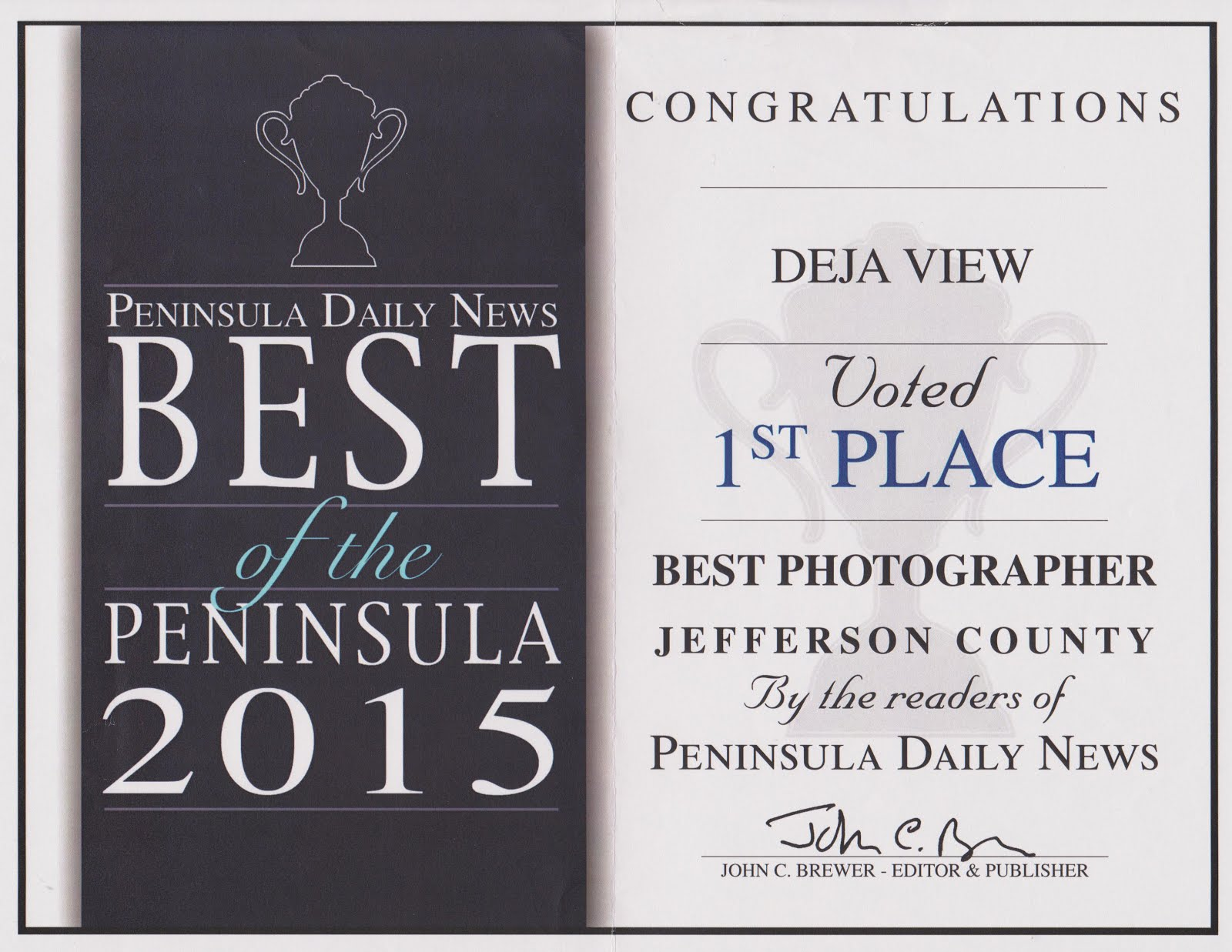 Voted Best of the Peninsula 2015