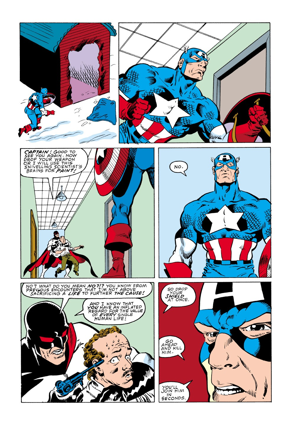 Captain America (1968) Issue #348 #278 - English 16