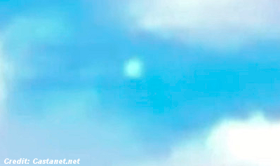 UFOs Caught By Canadian News Crew