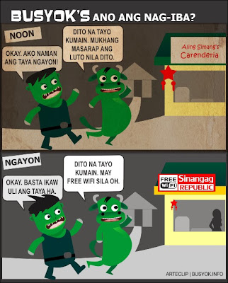 busyok comics, tagalog comics, online comics, comics about changes in behavior