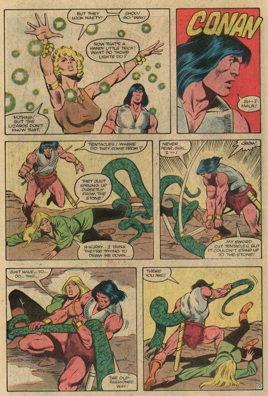 Conan the Barbarian (1970) Issue #146 #158 - English 15