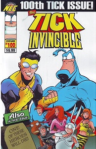 The Tick #100 Ben Edlund Invincible Robert Kirkman
