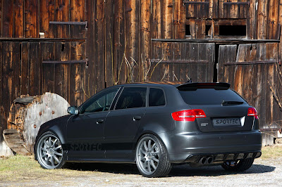 Audi RS3 Sportback tuning by Sportec