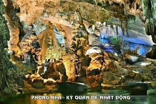 Tour tham quan Động Phong Nha tuyến 1200m (hằng ngày)
