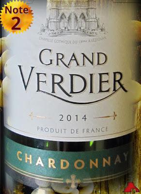 Grand Verdier Chardonnay Languedoc 2014