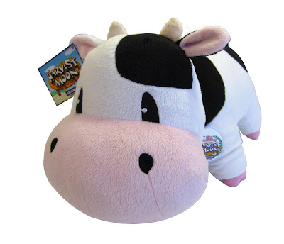 Harvest Moon Cow Plushie Toy