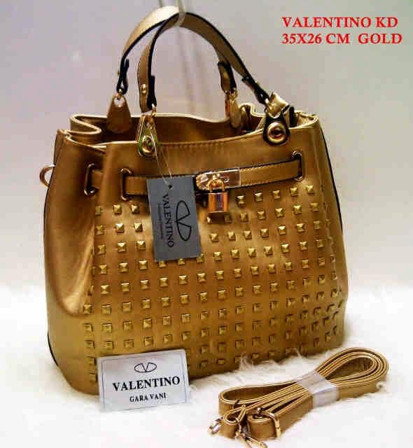 Tas Valentino terbaru Tas Valentino KD pink biru merah gold hitam khaki supplier eceran grosir tas harga murah
