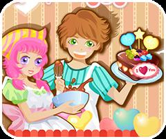 Bánh kem tình yêu, game ban gai