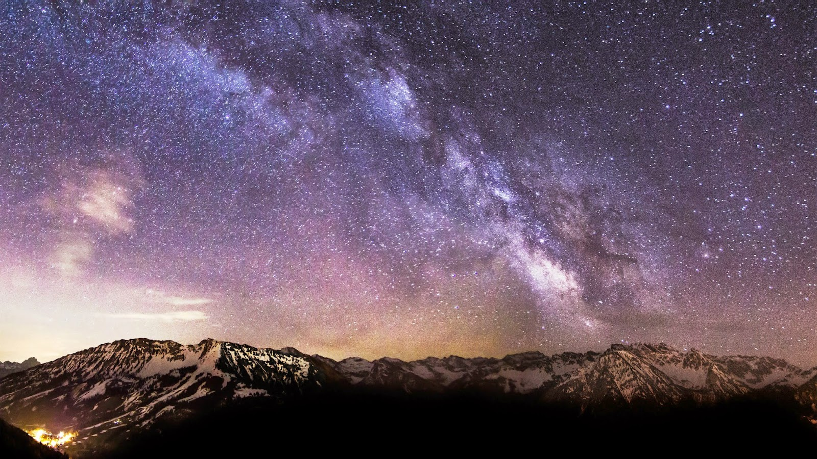 Hd Wallpapers Collection Of Stars Amazing Sky View Hd Wide