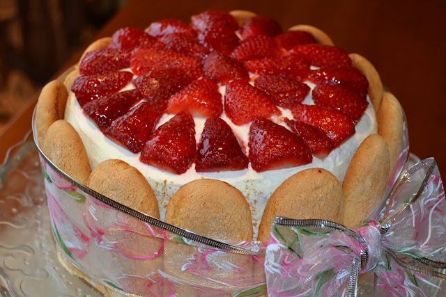 tarta de fresas thermomix