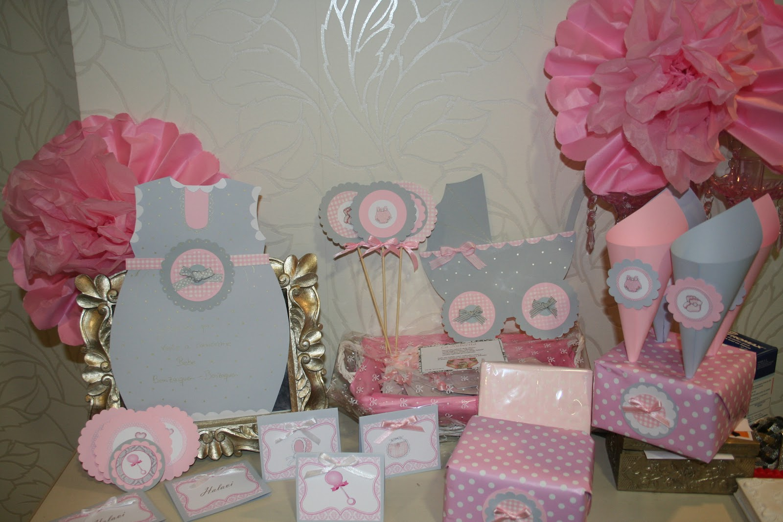 Decoraciones para baby shower decoracion mesa nina - Decoracion de mesas ...
