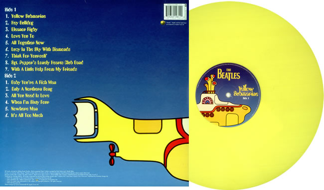 The Daily Beatle Apple S Yellow Submarine