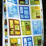Castles Peeps Kitchen Windows Quilt