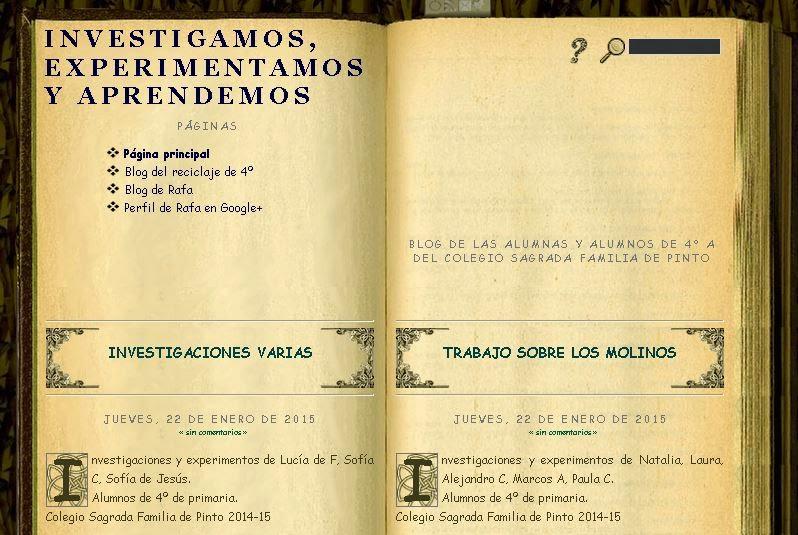 Blog de 4º Primaria 2014-15