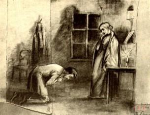 знакомство раскольникова с мармеладовым преступление и наказание