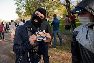 Здоровая молодёжь Санкт-Петербурга протестует против парада извращенцев
