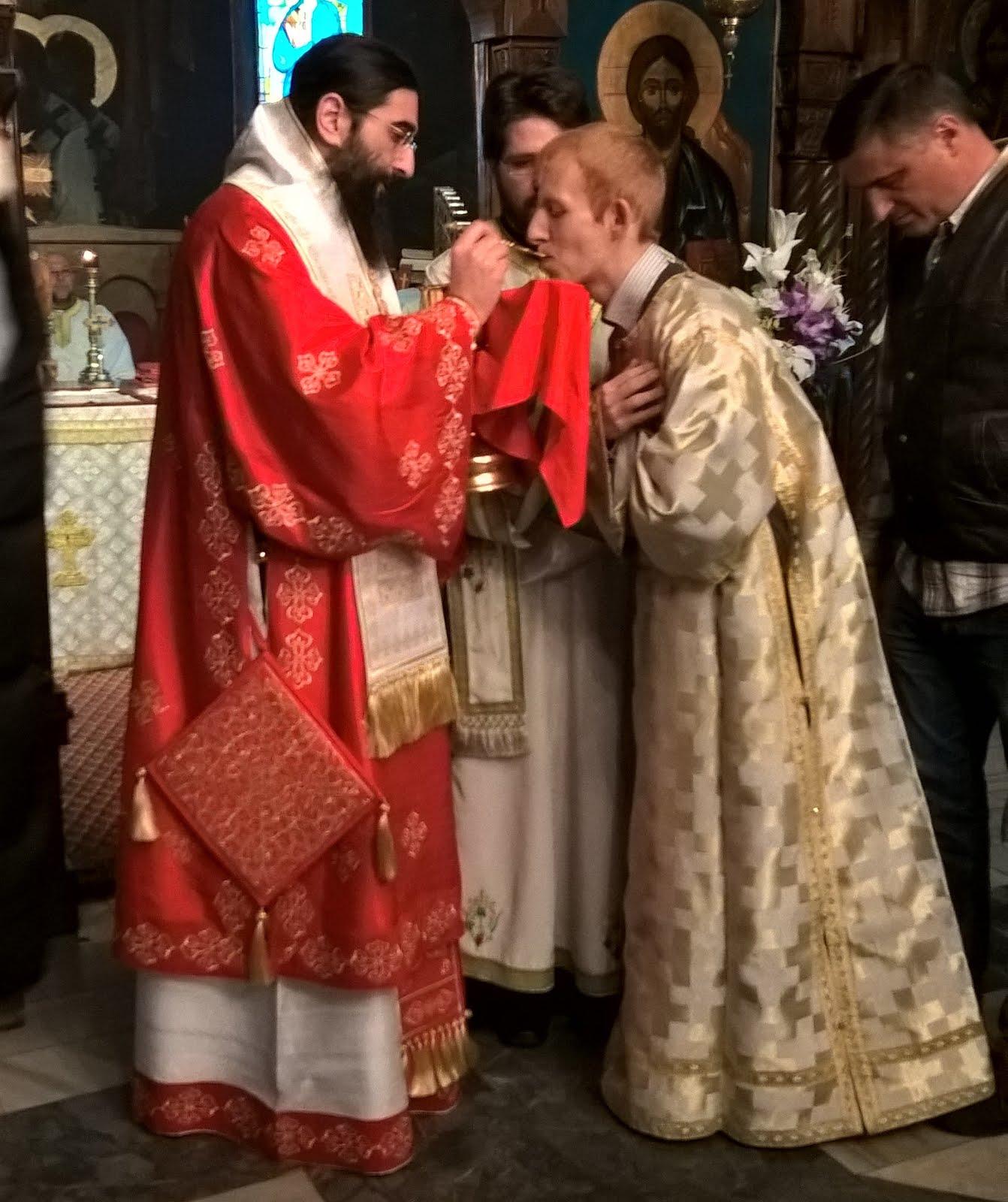 Крстовдан у Вождовачком храму, 2016. лета господњег